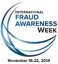 2014 Fraud Week Logo